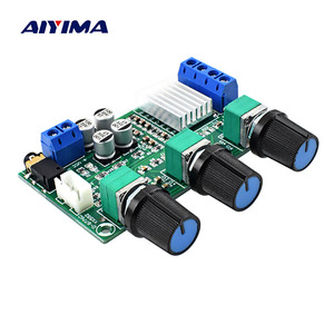 Image 1 - AIYIMA TPA3116D2 Power Amplifier Board 2*80W Stereo 2.0 Channel Digital Audio Amplifiers AMP With Bass Treble Adjustment