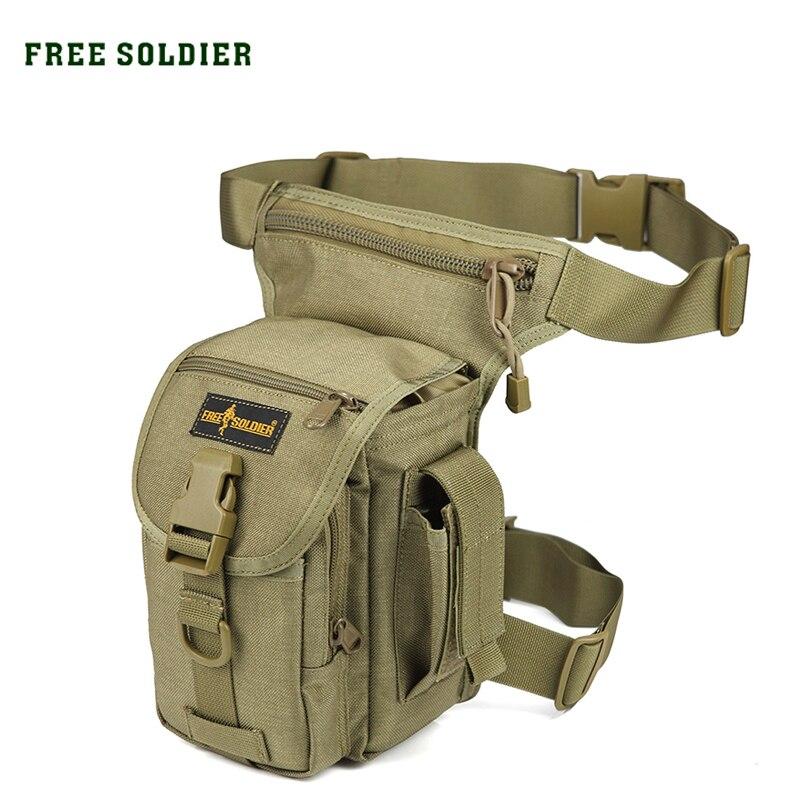 Prix pour FREE SOLDIER Sports de Plein Air 1000D Nylon Sac Tactique Sac de Taille pour le Camping/Randonnée/Escalade Militaire Style Taille Jambe Outil cas