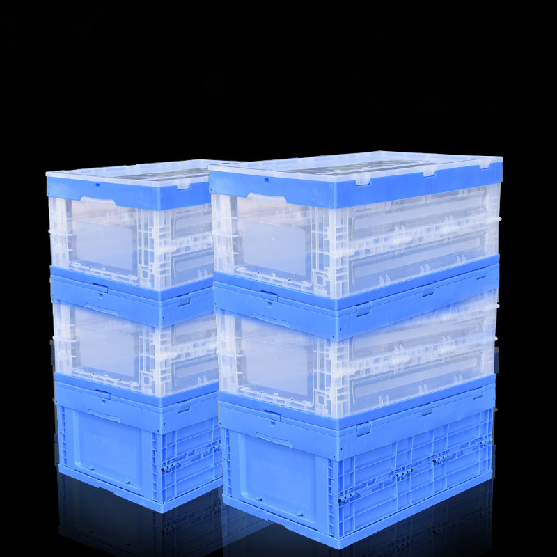 Large Folding Storage Containers Baskets PP Material Office Desk accessories Organizer factory Plastic Boxes For Groceries