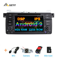 DSP IPS Android 9 Car DVD Multimedia Stereo for BMW E46 M3 with WiFi BT Radio GPS Navigation