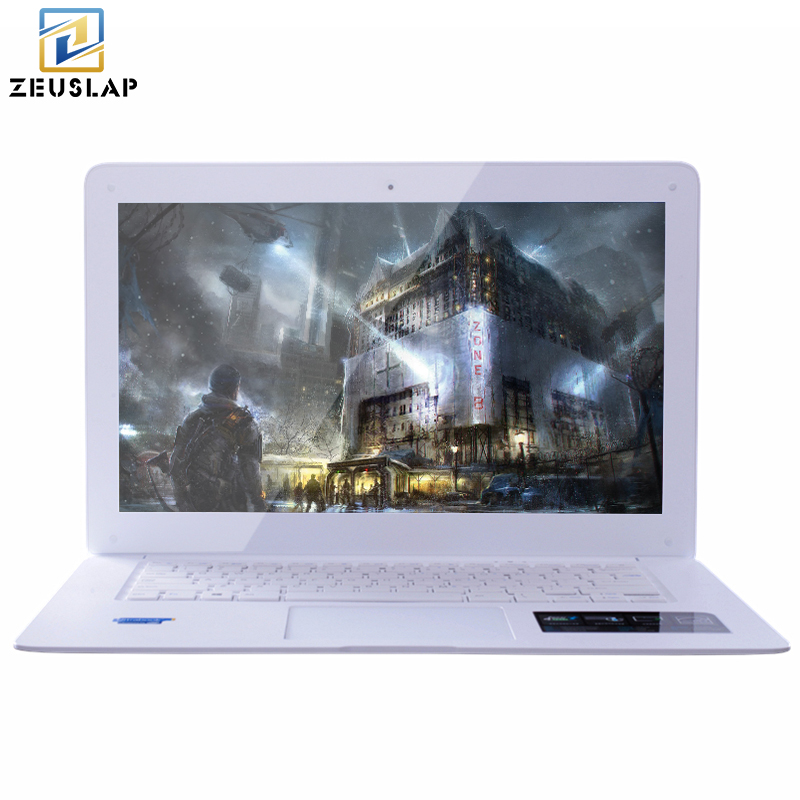 ZEUSLAP 8GB 240GB 750GB Windows10 Ultrathin Quad Core Fast Boot Multi language System Laptop Notebook Netbook
