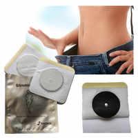 100 PCS/Lot efficace magnétique minceur Patch nombril mince Patch perte de poids brûlant graisse pâte minceur autocollant soins de santé