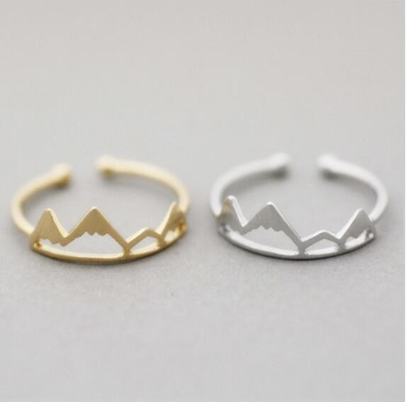New Fashoin Open Mountain Rings For Women Birthday gift
