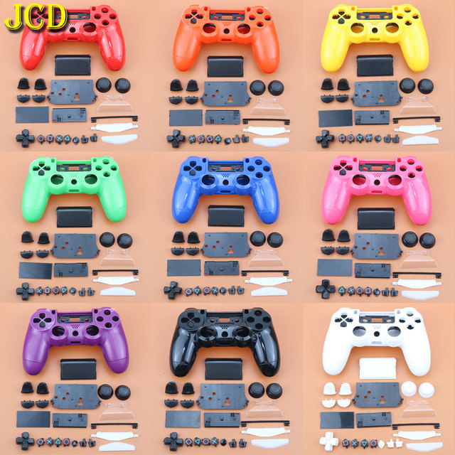 JCD Gamepad Controller Full Shell and Buttons Mod Kit For DualShock PlayStation 4 PS4 Controller Handle Housing Case Cover