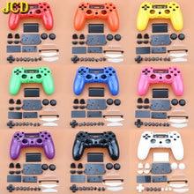 JCD Gamepad בקר מלא מעטפת וכפתורים Mod ערכת עבור DualShock פלייסטיישן 4 PS4 בקר ידית דיור מקרה כיסוי