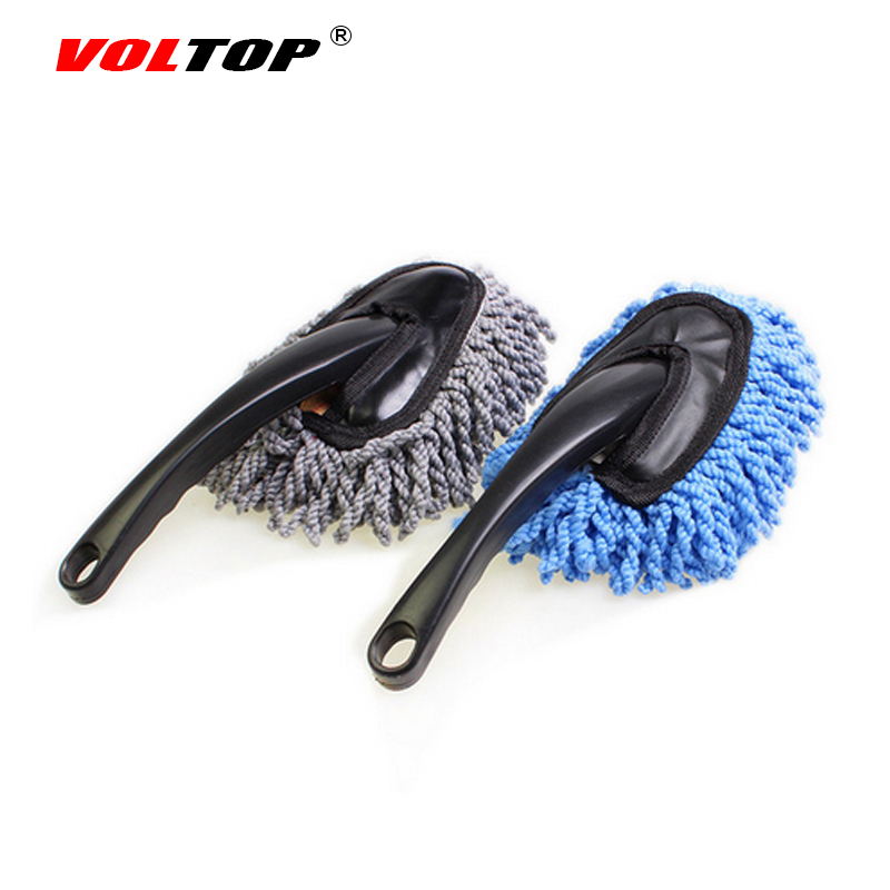 Us 4 99 Voltop Car Wash Mop Cleaning Brush Clay Bar Detailing Microfiber Wax Tinting Tools Multi Functional Nano Fiber Duster Cleaner In Sponges