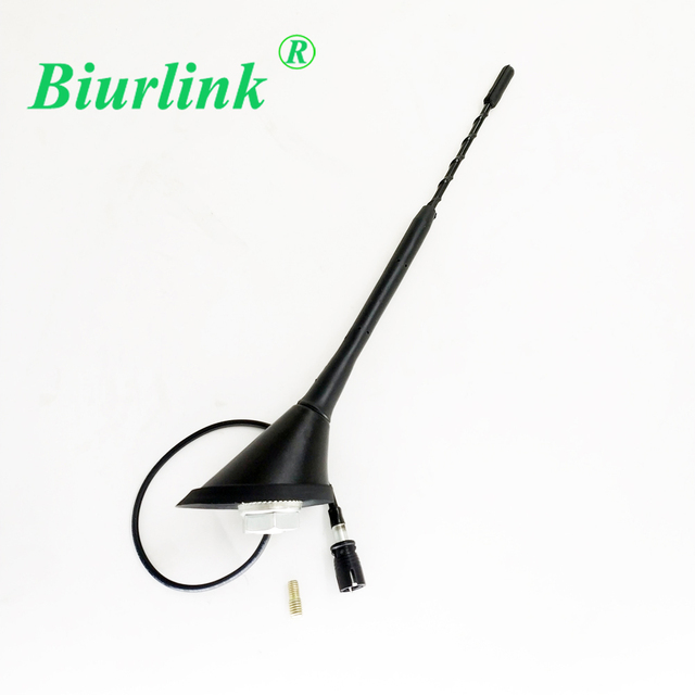 Biurlink 9 Car Roof Mount 5mm Thread Antenna Base Replacement For Toyota Yaris Prius