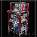 можете установить qdiy pc-c004lq 320mm видеокарты прозрачный акриловый на водной- охлаждение компьютерный корпус шасси
