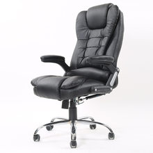 Luxury Modern Fashion Swivel Boss Chair Rotary Lifting Ergonomic Office Chairs Thicken Backrest Leisure Lying Computer Chair(China)