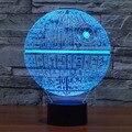 Lámpara Led 3d para Mesa de Star Wars Soldados Clon Cambio de Color Luz de noche Regalo de La Lámpara de Iluminación Casero Decoran accesorio