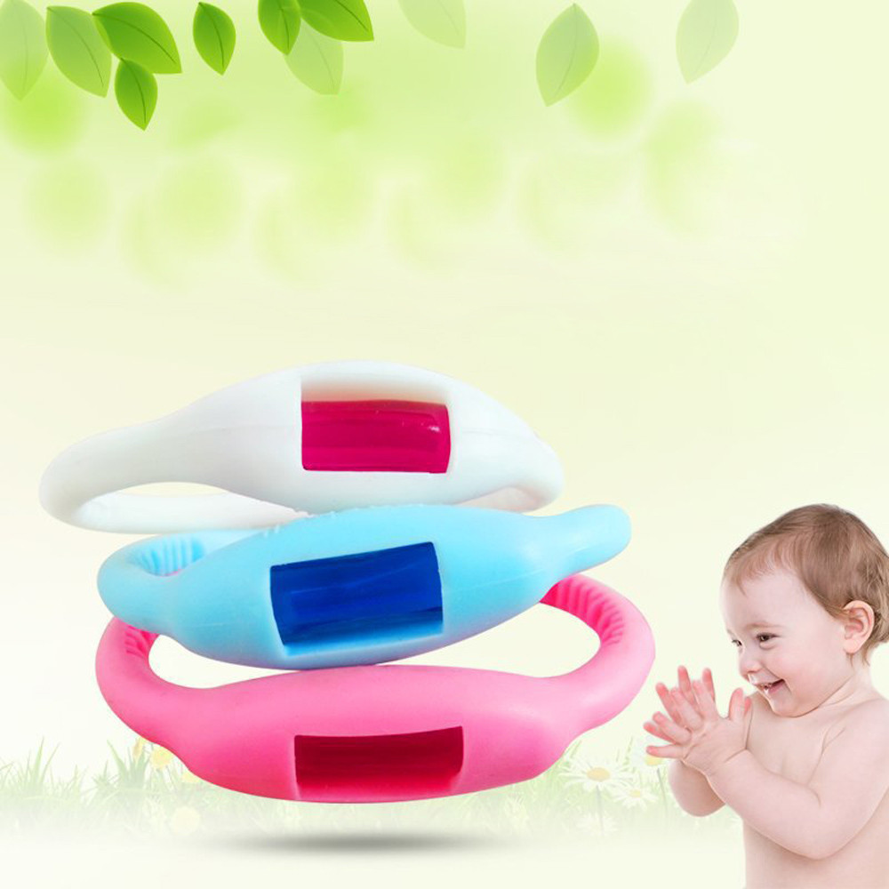 Professional Natural Repellent Wrist Band Bracelet Baby Anti Mosquito Repellent Bug Pest Control Products Repeller