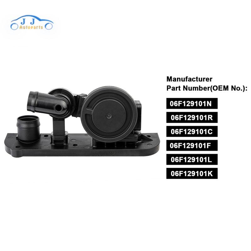06F129101L 06F129101N PCV Pressure Control Valve Oil Breather Separator For Audi A3 A4 TT Volkswagen Passat J-etta Eos G-TI 2.0T