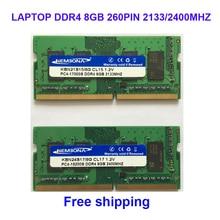Kembona sodimm notebook ram memory laptop ddr4 8gb 8g 2133MHz 2400MHZ 260pin free shipping