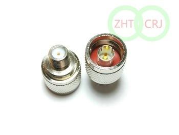 50pcs N Male Plug - F Female RF  connector Adapter