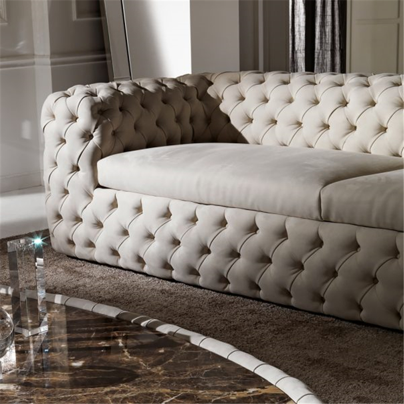 Astonishing Us 3846 0 Luxury Modern Fabric Velvet Button Tufted Nubuck Leather Upholstered Chesterfield Sofa In Living Room Sets From Furniture On Aliexpress Ocoug Best Dining Table And Chair Ideas Images Ocougorg