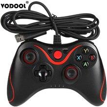 VODOOL USB проводной игровой контроллер джойпад геймпад для Microsoft Xbox 360 для Xbox 360 Slim ПК Windows Игровые колодки аксессуары