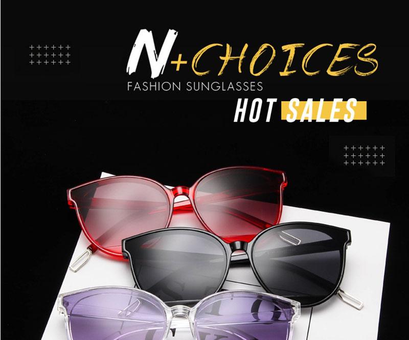 RBROVO Gafas de sol mujer vintage 1