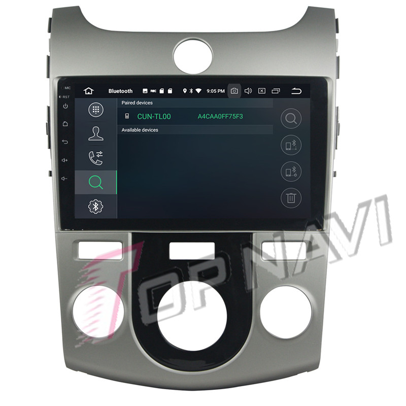 car android dvd For KIA Forte 2010 2011 Manual
