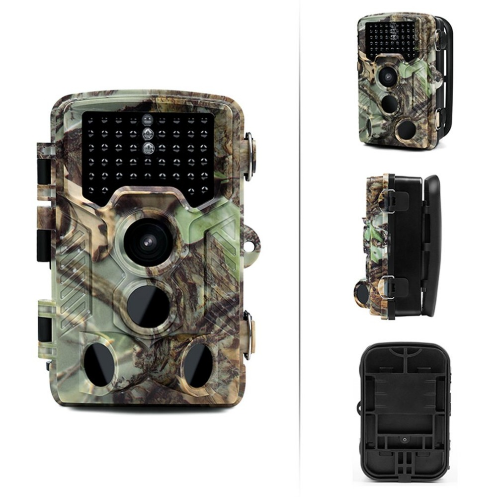 16MP 1080P HD Trail Camera Infrared Night Vision Wide Angle Hunting Camera IP56 Waterproof Cam for Wildlife Animal Monitoring цена