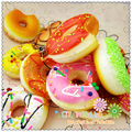 squishy wholesale 50pcs cute squishy lot donut for mobile phone strap cell phone charm kawaii squishies minicraft  free shipping