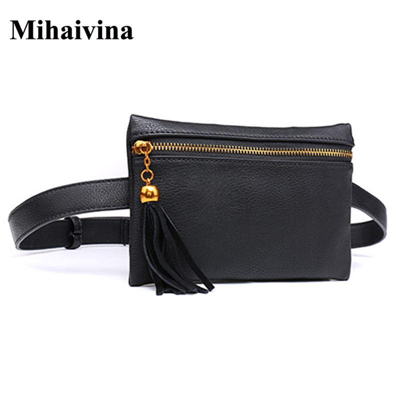 Wholesale Classic Travel Waist Pack Women Small Bag Female Belt Waist Pouch Pack Fanny Pack Phone Pouch Bags Mihaivina сумка newswear small fanny pack
