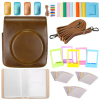 Neewer 25 in 1 Accessory Kit for Fujifilm Instax Mini 70: 1 Camera Case/1 Blue Album/4 Colored Filter/5 Film Table Frame