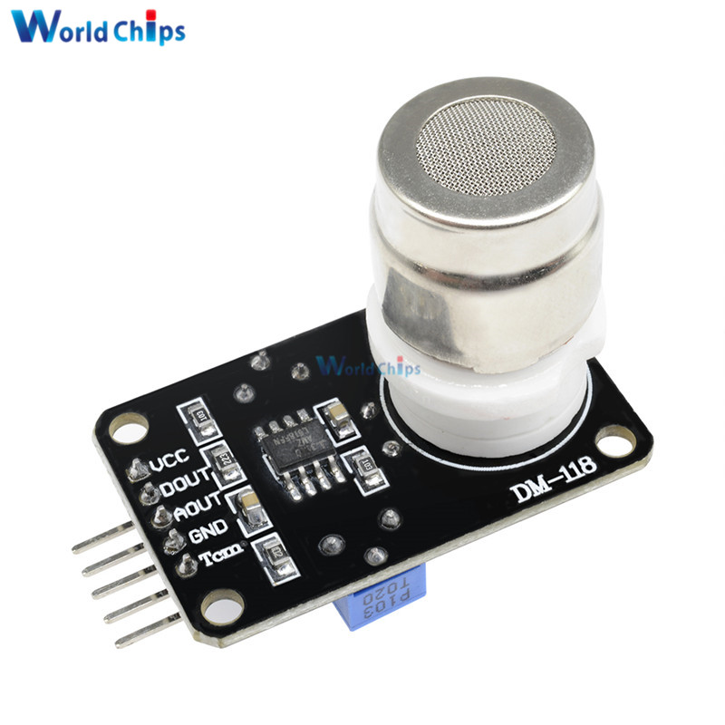 MG811 углекислый газ CO2 Датчик Модуль детектор с аналоговым сигналом выход 0-2 в