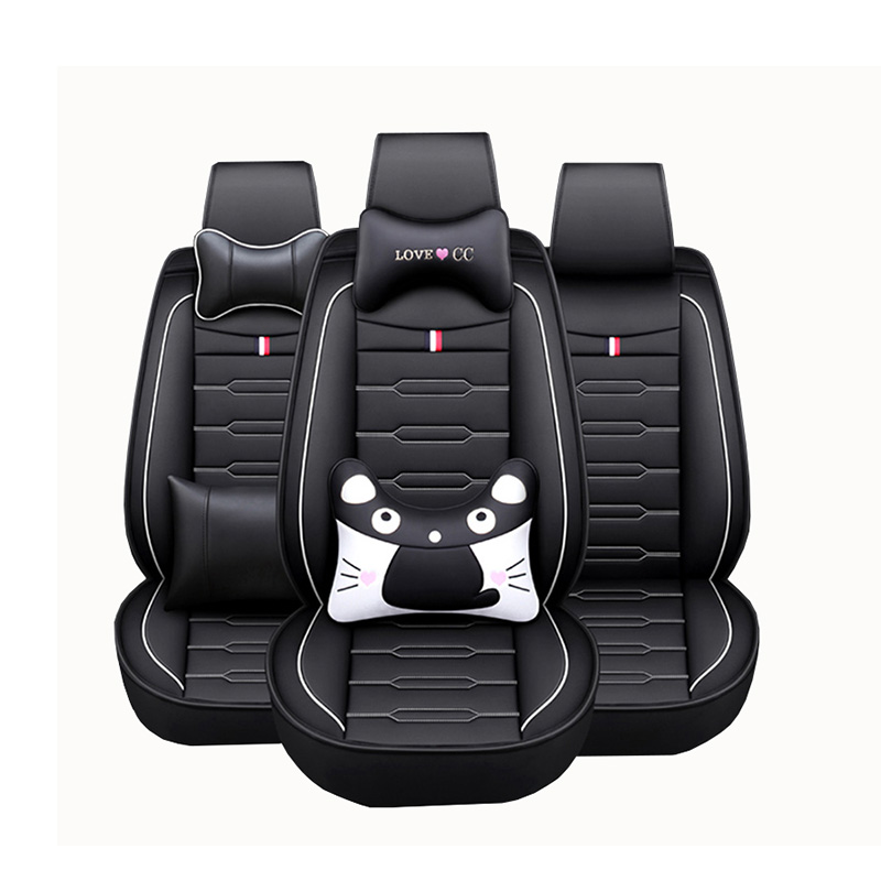 Image 5 - High Quality PU Leather Cartoon auto seat covers for mazda 6 gh cx 5 opel zafira b bmw f30 vw passat b6 solaris hyundai bmw x5-in Automobiles Seat Covers from Automobiles & Motorcycles