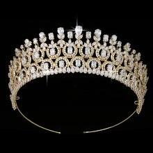 Тиары и короны hadiyana свадебные аксессуары для волос Элегантные