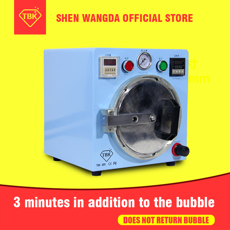 OCA Bubble Remover Machine In Addition To Just 3 Minutes Does Not Return Bubble For Intelligent Mobile Phone LCD Refurbishment промышленная машина oem lcd bubble remover