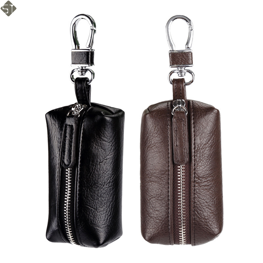 vintage Coin Purses key wallet PU leather Unisex Key Case High-Quality new fashion man key bag housekeeper woman key holder vintage genuine leather key wallet men keychain covers zipper key case bag men key holder housekeeper keys organizer