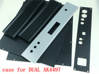 aluminum chassis case for DUAL AK4497 DAC DIY audio