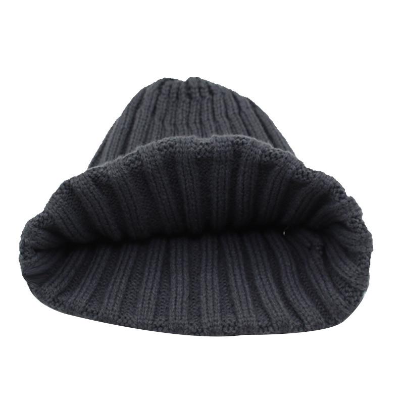 قبعة صوف رجالي دافئة 13