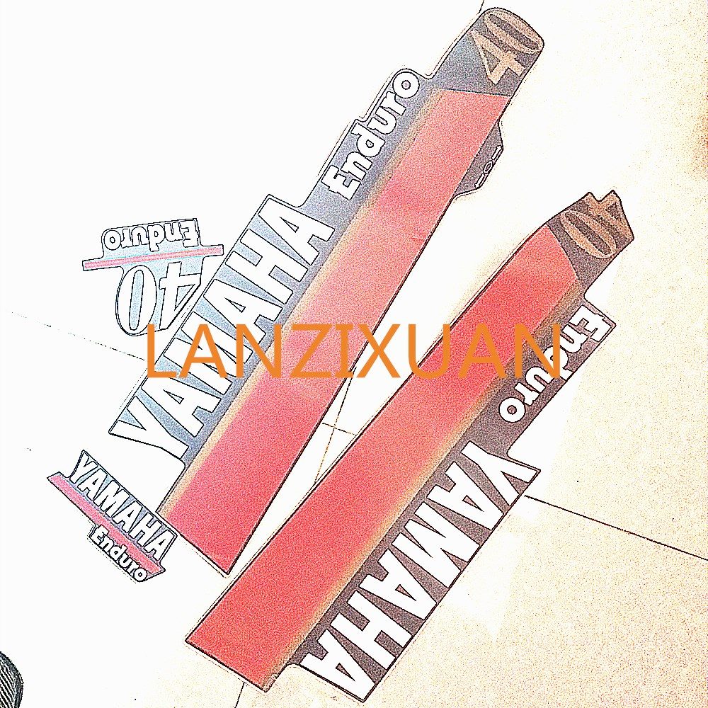 For Yamaha 40hp outboard engine graphics/sticker kit ,Top Cowling Sticker