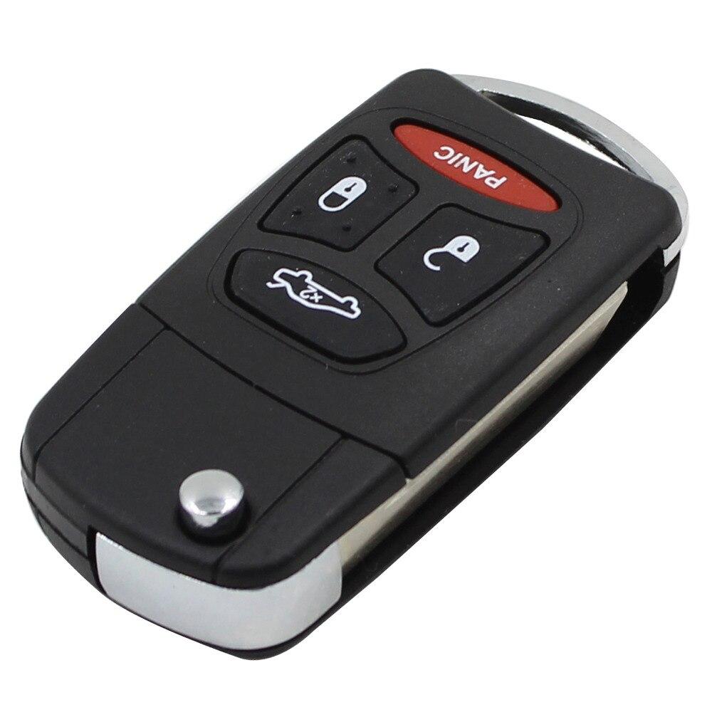 chiave telecomando per Chrysler Sebring Pacifica Dodge Jeep 3 +1 Panic  1