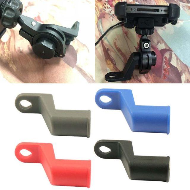 e0199e80b Moto eléctrica bicicleta de la motocicleta espejo retrovisor de montaje  soporte para la tableta del teléfono
