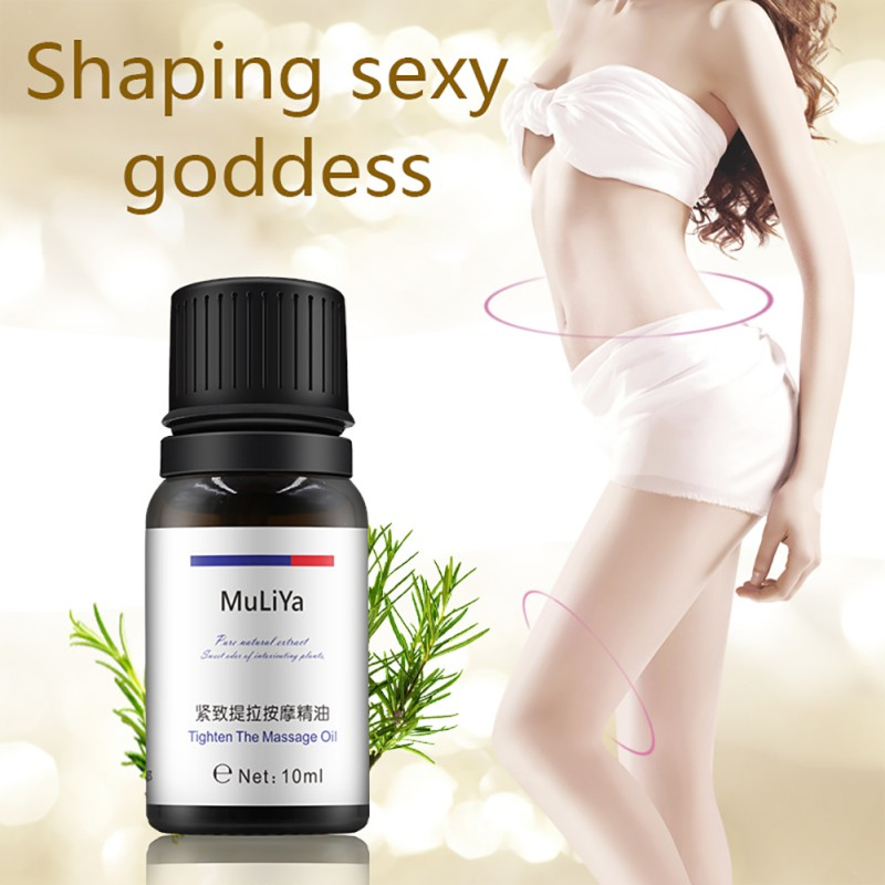 10ml Women Slimming Essential Oils Leg Body Waist Fat Burning Loss Liquid Essential Oil Beauty Product