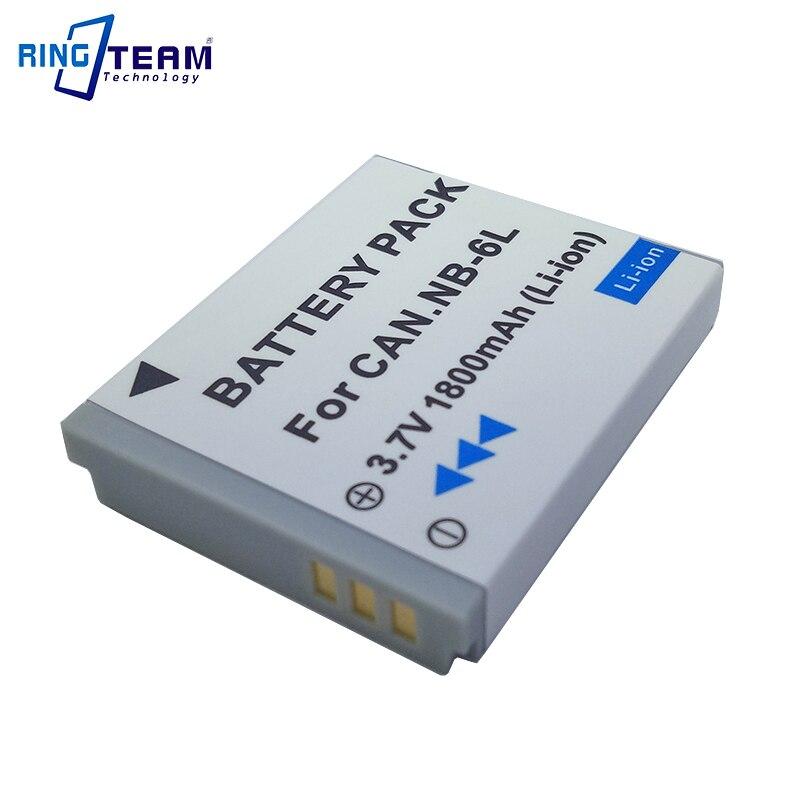 NB-6LH NB6L NB-6L batería Digital para Canon Power-shot Cámara HS SX520 SX530 SX540 SX600 SX610 SX700 SX710 IXUS 95 200 210 105