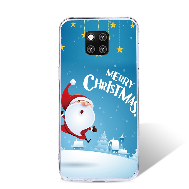For Huawei Mate 20 Pro Case Silicone Christmas Soft TPU Back Cover Case For Huawei Mate 20 Mate20 Phone Fundas Coque Cases