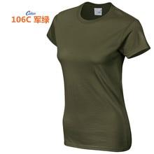 High Quality 18 Color S-3XL Plain T Shirt Women Cotton Elastic Basic T-shirts Female Casual Tops Short Sleeve T-shirt 002