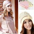 Comercio al por mayor 2016 venta caliente de La Manera sombrero de Verano Las Mujeres Embarazadas Madres Mariposa Anti-pañuelo Cofia de Encaje Sombrero