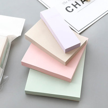 4 pcs Mild color memo pad Classical index label Daily planner agenda sticker Office accessories School supplies FM383