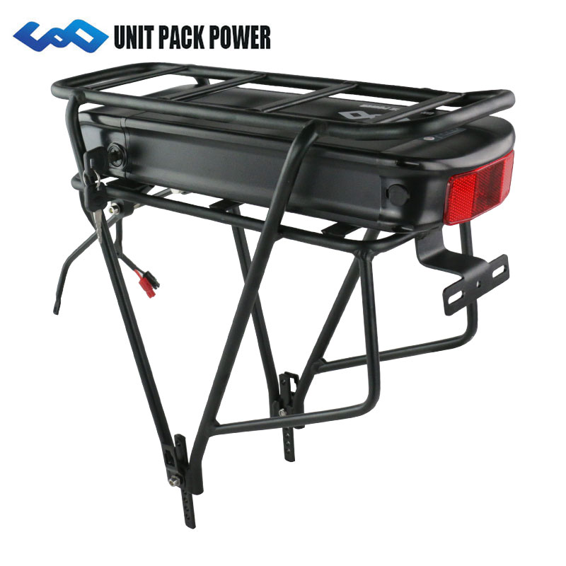 Electric bicycle 1000W eBike rear rack Battery 48V 17Ah Lithium ion Battery with 30A BMSElectric bicycle 1000W eBike rear rack Battery 48V 17Ah Lithium ion Battery with 30A BMS