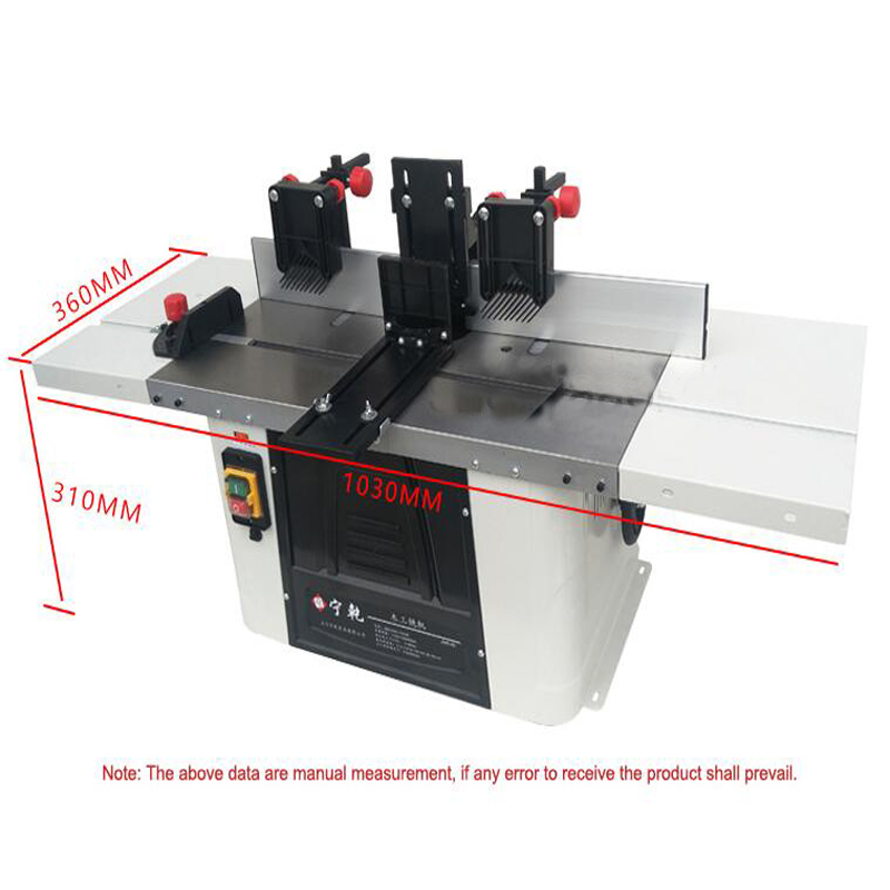 Woodworking Slotting Machine Woodworking Milling Machine Edge Trimmer Craft Engraving Machine JMR 40|Milling Machine| |  - title=