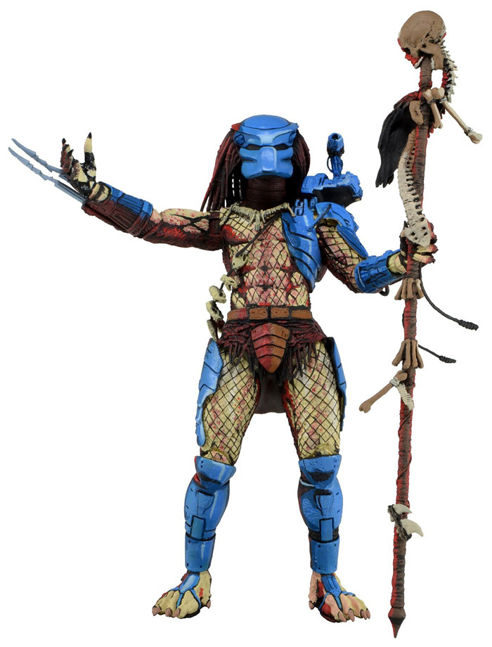 ФОТО High Quality NECA Dark Horse Comic Book Predator Exclusive Reprint  Classic Sci-Fi 20cm Action Figure