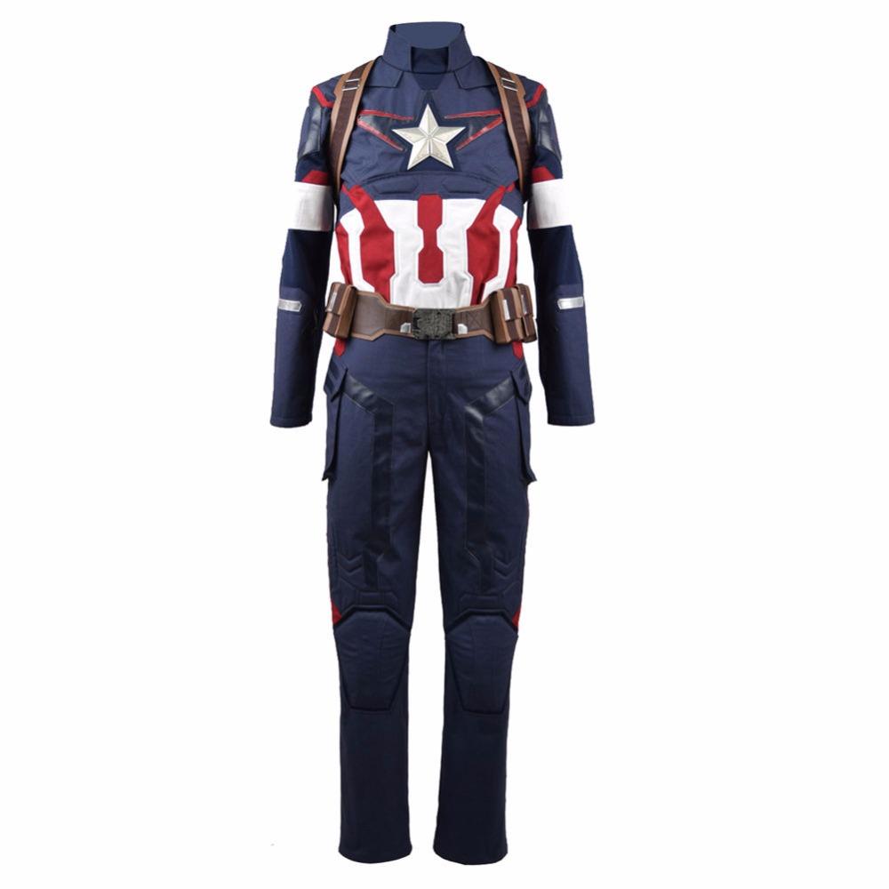 America Suit Captain Superhero 2