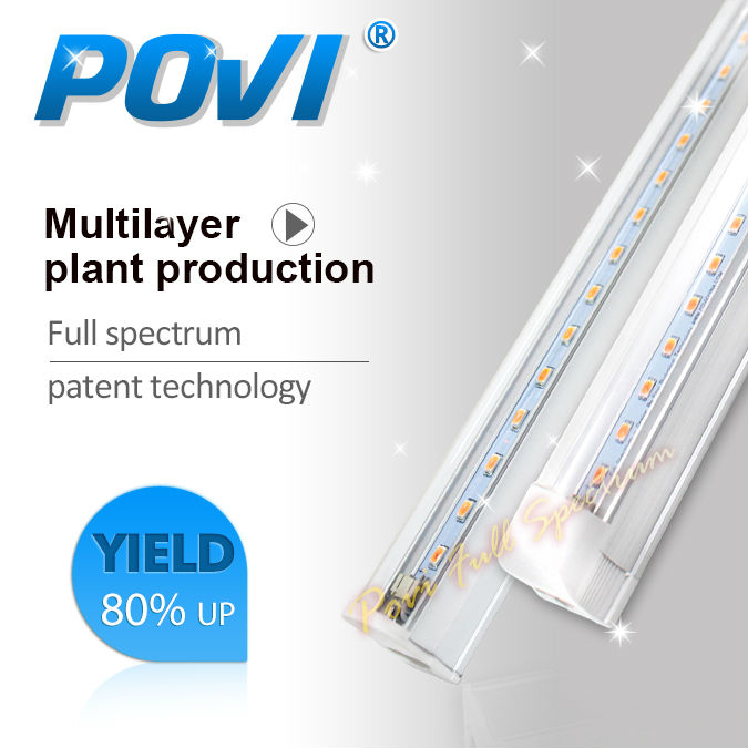 T8 28W 90CM AC vegetable grow light tube 1pc retail for Organic farming indoor full spectrum 380-780nm