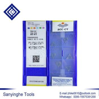 free shipping high quality sanyinghe 10pcs/lots  TPGH090202L-YBG102  cnc carbide  milling insert