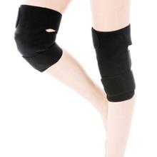 Самостоятельный наколенник с подогревом поддержка колена пояс Магнитный турмалиновый терапия массажер для коленей для облегчения боли при артрите поддержка бандажа