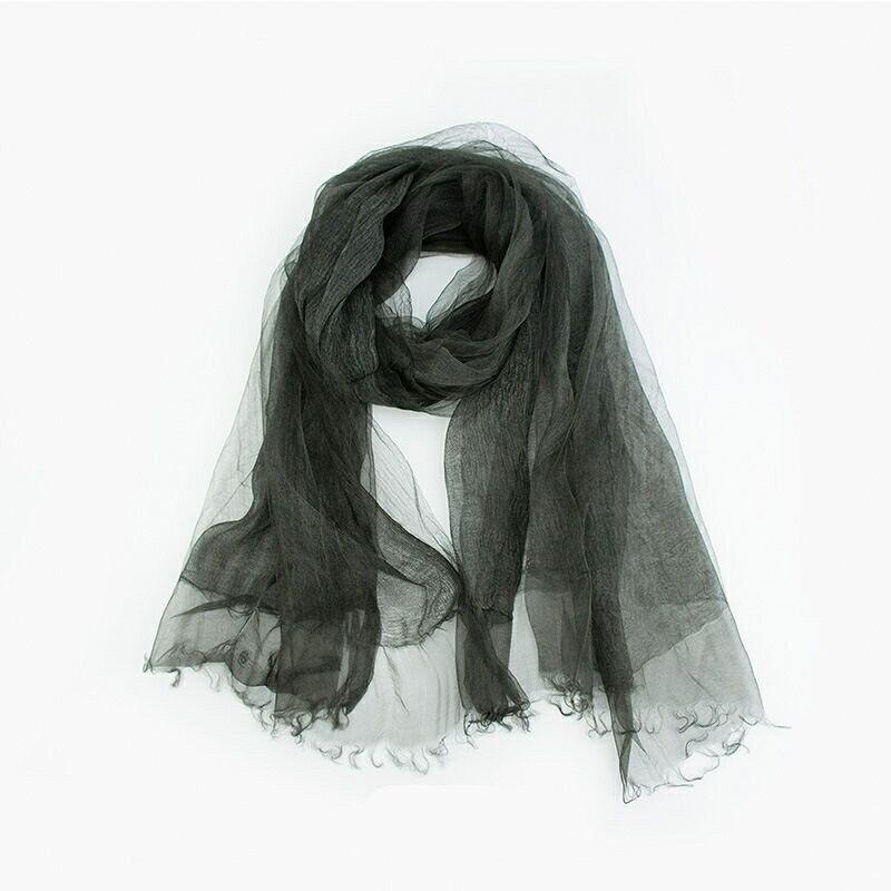 Verano sólido mujeres bufanda de moda